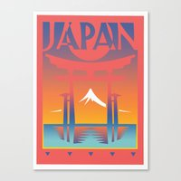 Japan Travel Canvas Print