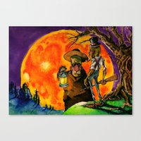 The October Country Canvas Print