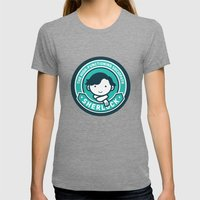 Sherlock Womens Fitted Tee Tri-Grey SMALL
