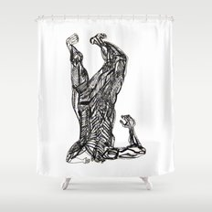 ...facade... level. Shower Curtain