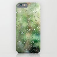 iPhone & iPod Case featuring Raindrops by The Last Sparrow