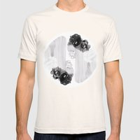 Selene And Eos (black An… Mens Fitted Tee Natural SMALL