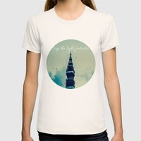 Trip The Light Fantastic  Womens Fitted Tee Natural SMALL