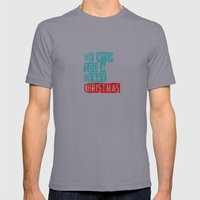 We Wish You A Merry Chri… Mens Fitted Tee Slate SMALL