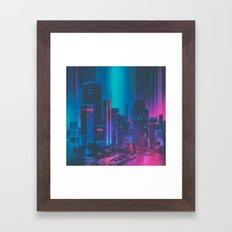 MAINFRAME-1982 (everyday 12.21.15) Framed Art Print