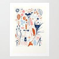 Memory Box Art Print