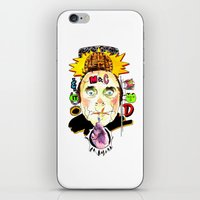 SNICK Or TREAT. iPhone & iPod Skin