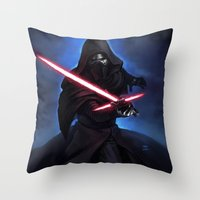 REN Throw Pillow