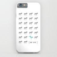 Be You - Zebra Print iPhone 6 Slim Case