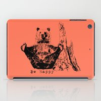Happy To Bear It With You iPad Case