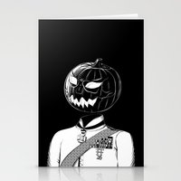 Sir Halloween Stationery Cards