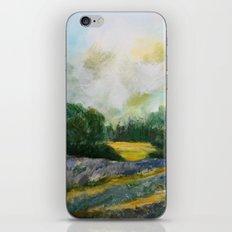 Lavender Field iPhone & iPod Skin
