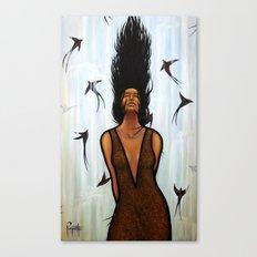 Dama Del Agua Canvas Print