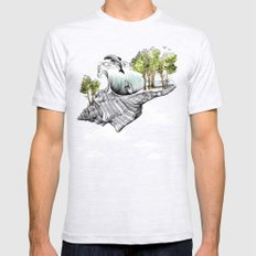 Daydream Island Mens Fitted Tee Ash Grey SMALL