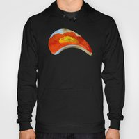 Orange Poppy Flower On A… Hoody