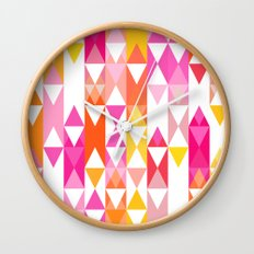 Geostripe Wall Clock