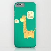 Giraffe problems! iPhone 6 Slim Case
