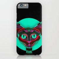 Black CAT- Black iPhone 6 Slim Case