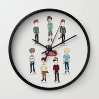 Youtube Boys  Wall Clock