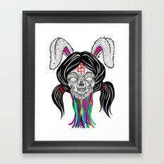 a bitter bitch. Framed Art Print