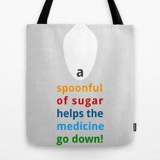 A spoon full of sugar Tote Bag
