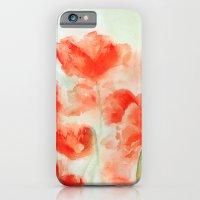 Flanders Poppies iPhone 6 Slim Case