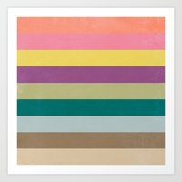 Of Autumns Past / Rainbow Art Print