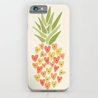 My Pineapple Valentine iPhone 6 Slim Case