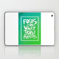 What truly matters Laptop & iPad Skin