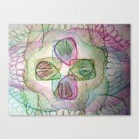 Skullz Canvas Print