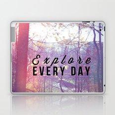 Explore Every Day Laptop & iPad Skin