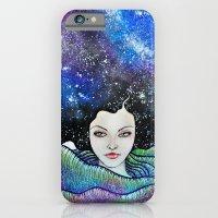 cosmic petals iPhone 6 Slim Case