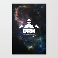 Dreck-The Final Frontier Canvas Print
