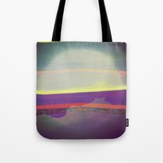 Signs in the Sky Collection - Falling Moon Tote Bag
