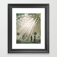 Laboratory In The Sky... Framed Art Print