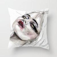 Throw Pillow featuring Sky no,22 by Lucas David