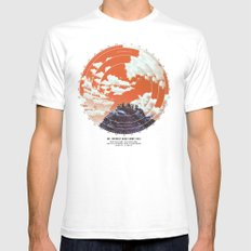 Base Camp Mens Fitted Tee White SMALL