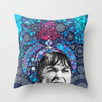 Psycho Design  Throw Pillow