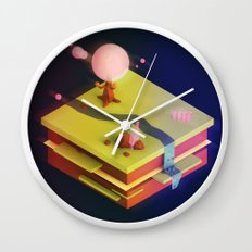 Earth Sandwich One, Variant D Wall Clock