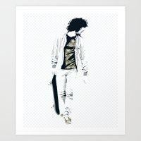 Skater 1 Art Print