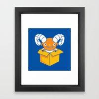 Free Sheeping! Framed Art Print