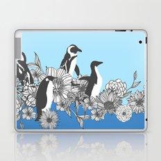 Flowers & Penguins Laptop & iPad Skin
