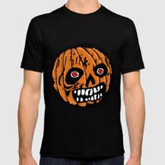 Jack-o-Lantern 2 Mens Fitted Tee SMALL Black