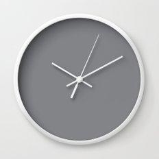 PANTONE 17-3914 Sharkskin Wall Clock