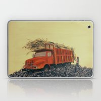 Sugar Cane And Truck On … Laptop & iPad Skin