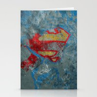 superman Stationery Cards featuring Superman by Fernando Vieira