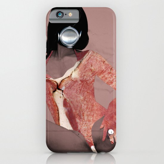 Fleisches Lust 3 - meat Collage iPhone & iPod Case