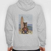 Surfer Bear Hoody