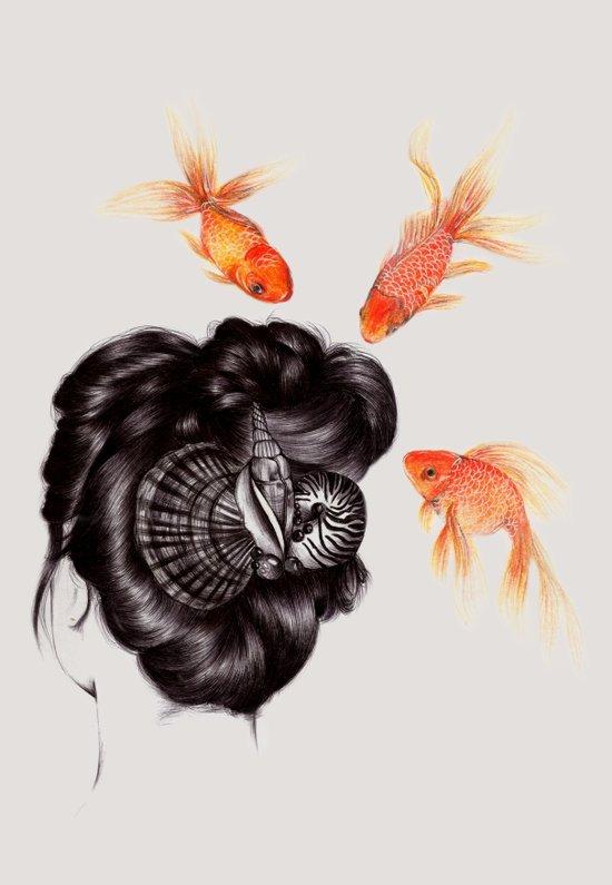 Hair Sequel IV Art Print