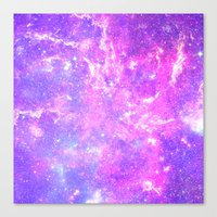 Pink Galaxy Canvas Print